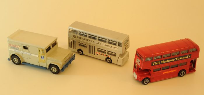 Dinky toys bus